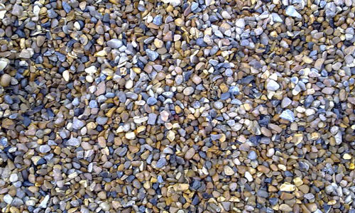 Colorful Gravel Texture