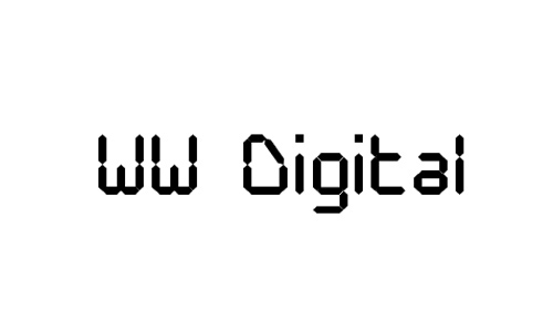 WW Digital font