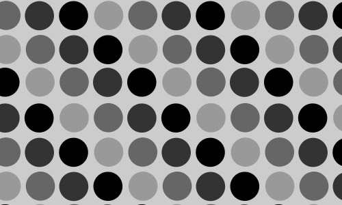 polka dots patterns black and white