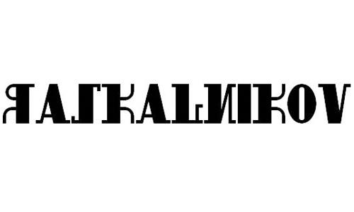 raskalnikov font