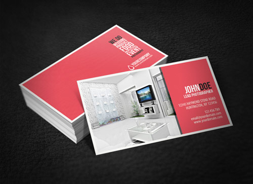 Well-expressed Photography Business Card
