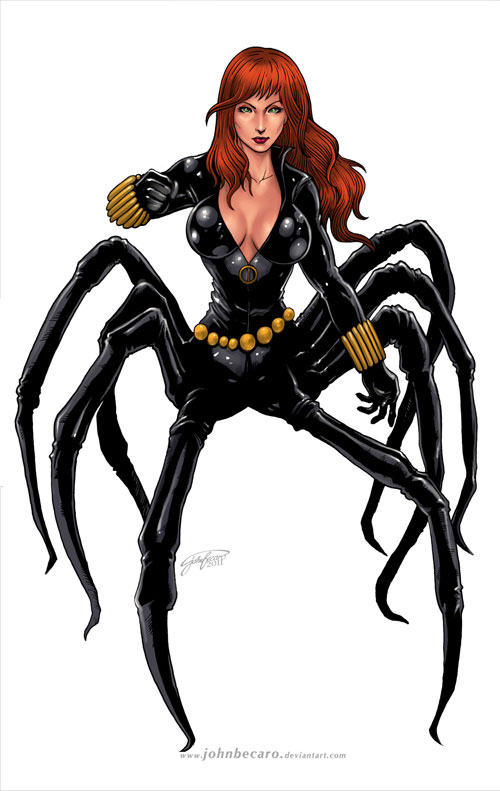 Commission: BLACK WIDOW