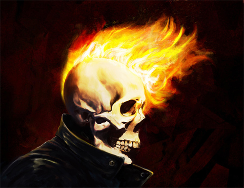 Ghost Rider Greaser BA Sub