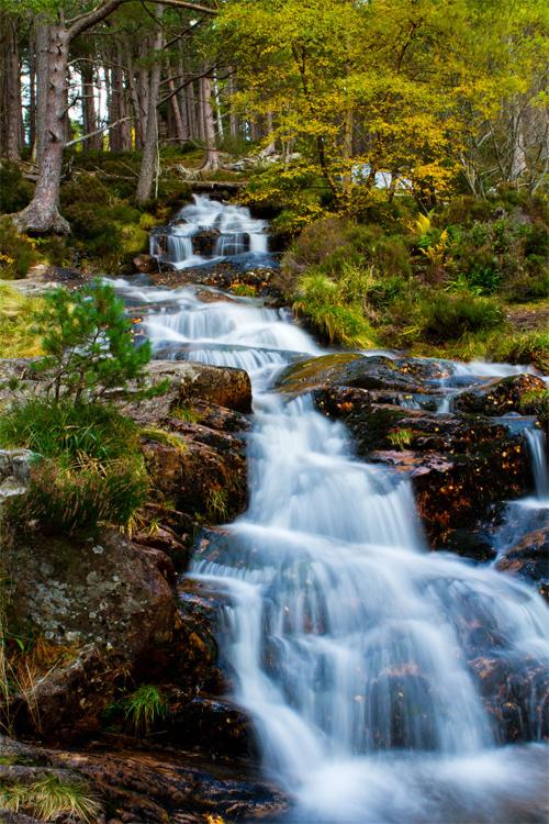 Glen Feshie Waterfall