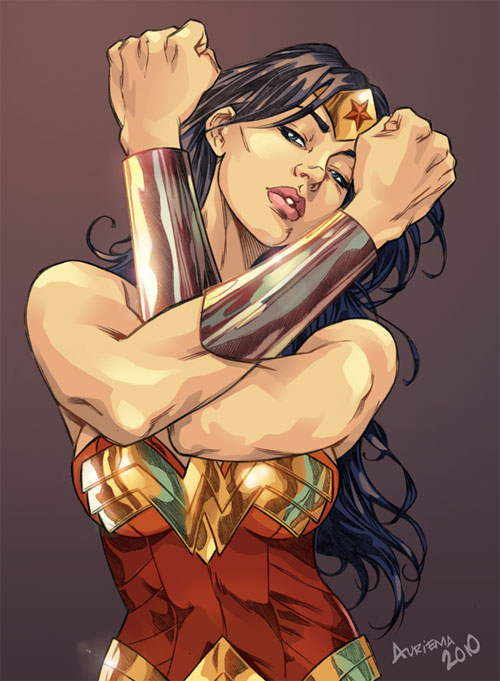 Wonder Woman - color