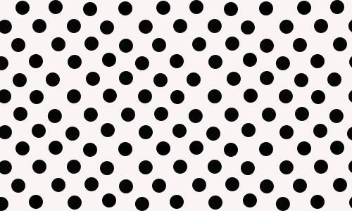 black and white patterns dots