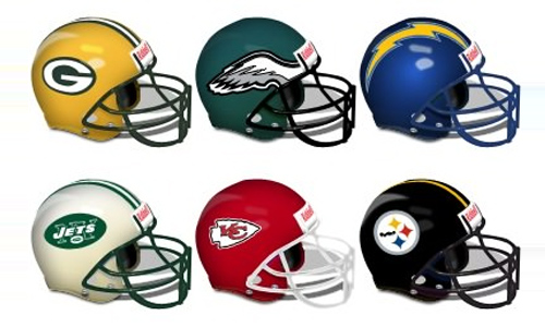 NFL Helmets Icons