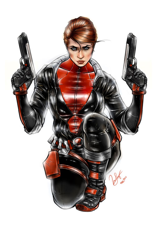 Black Widow Redesign