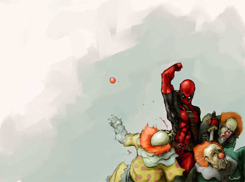 Deadpool and Clowns