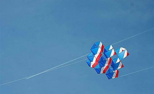 Flying on the Ground: Photographing the Joy of Kite-Flying