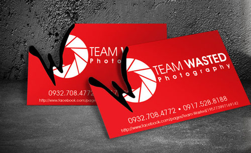 Really Creative Photography Business Card