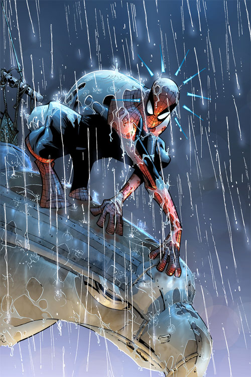 Spectacular Spiderman 2 pg 13