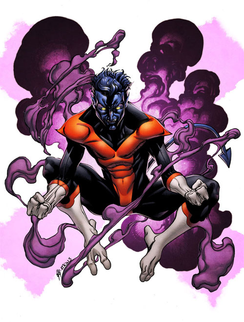 X-Men Month Nightcrawler Color