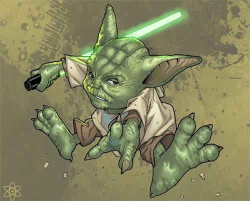 Yoda Kick Ass