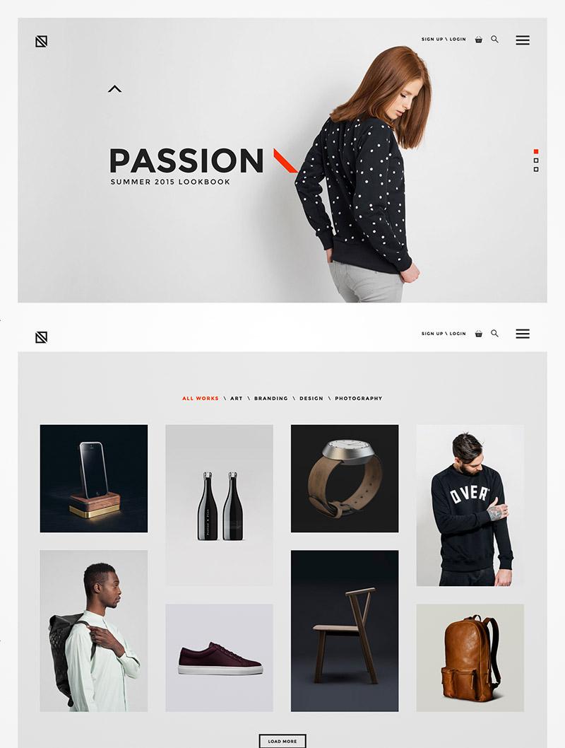 creative minimal wordpress