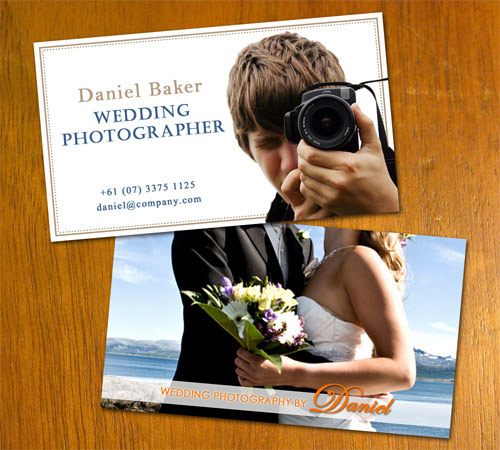 Fresh Photography Business Card