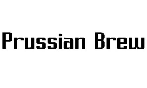 Prussian Brew font