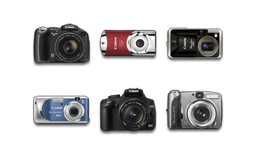Canon Digital Camera Icons