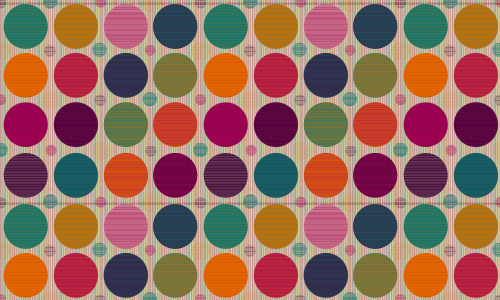 colorful polka dot patterns free