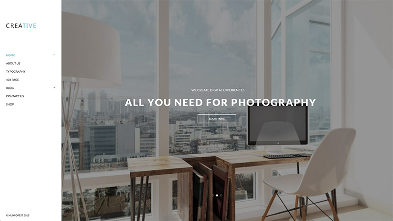 customizable wordpress photograph
