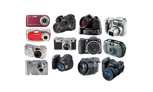 Digital cameras png icons
