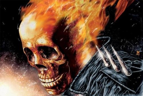 Ghost Rider digital art