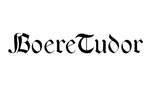 boeretudor font