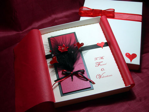 Sweet Collection of 40 Valentines Card Inspirations – Hand Made Valentine Cards
