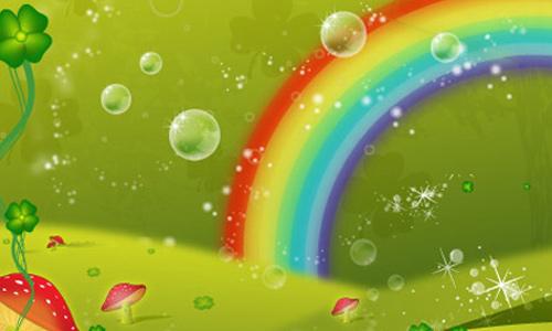 Clover Leaf Rainbow