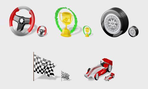 F1 Icons