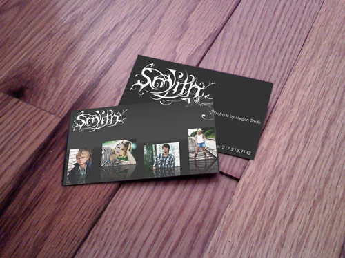 Simply Nice Photography Business Card