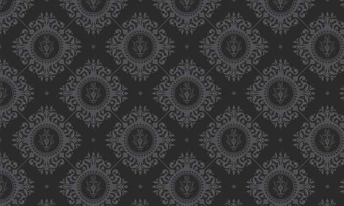 Very fashionable Black and White pattern