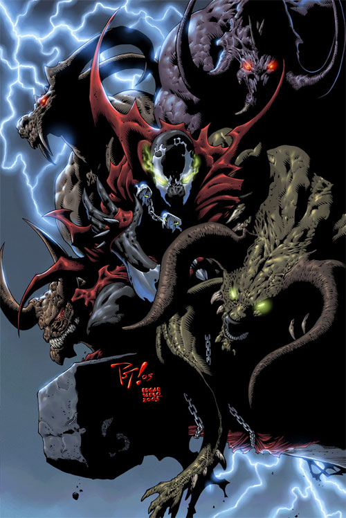Spawn Pinup