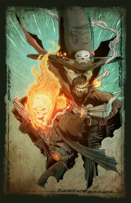Spawn and Ghost Rider