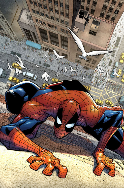 Spectacular Spiderman cvr 3