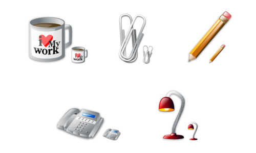 Office Vista icons