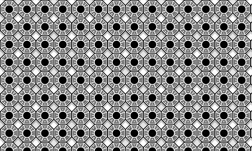 Eye-catching Black and White pattern