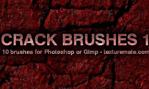 Crack 1 Brush Pack for Photoshop or Gimp