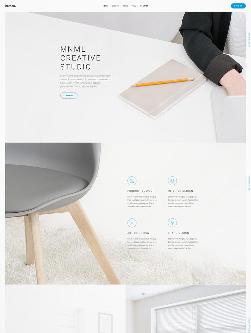 multipurpose creative theme