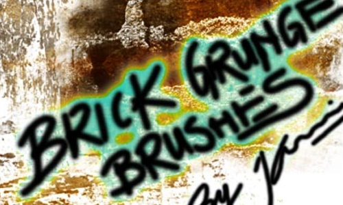 Grungy Brick Brushes