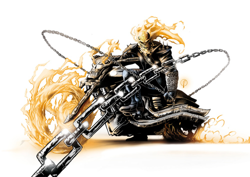 Ghost Rider Color