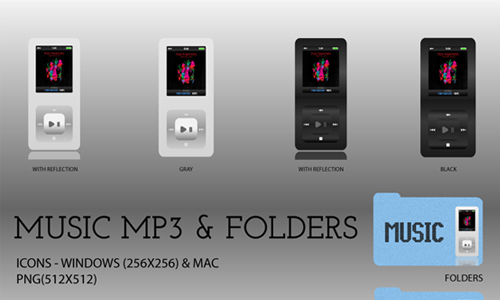 Music MP3 and Folders