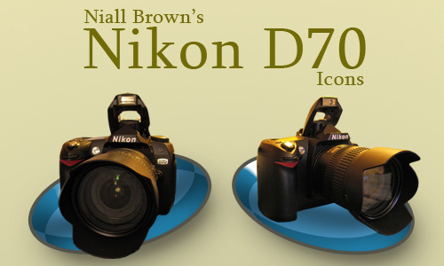 Nikon D70 PNG Icons