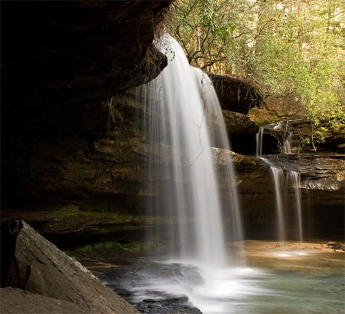 Upper Falls at Caney Creek