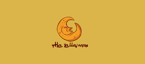 the yellow moon