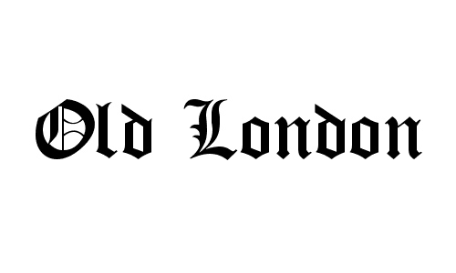Old London font