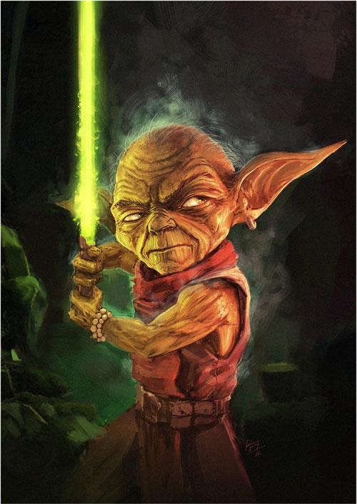 Yoda fighter