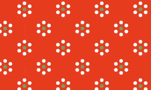 French dot polka dot patterns