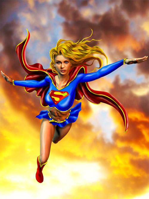 supergirl artworks