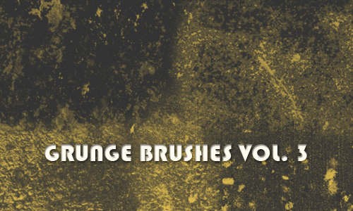 Grunge Brushes Vol. 3